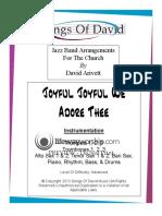 Joyful Joyful Score Only