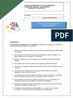 Guía de estudio No. II / 1ro. Básico  A y B Ciencias Naturales