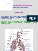 Respiro- Intro e Meccanica Respiratoria Statica