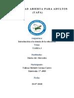 INTRODUCCION A LA CIENCIA YULISA.. TAREA 3