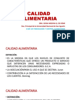 CALIDAD ALIMENTARIA POWER POINT