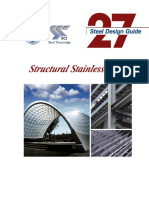 AISC Design Guide 27 - Structural Stainless Steel