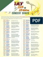 San Antonio International Airport livestream concert series