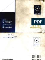 Car Repair Manual Mercedes 207_409D Manual