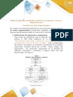 Anexo a la guía de actividades y rúbrica de evaluación -Tarea 4