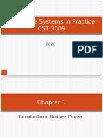 Enterprise Resource Planning Management Chapter 1