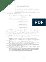 Ley General Salud