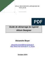 Guide de Demarrage Altium Designer