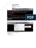 Instalar el servidor OpenSSH
