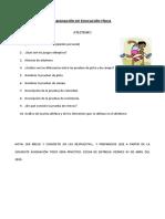 ASIGNACIÓN DE EDUCACIÓN FÍSICA LUIS