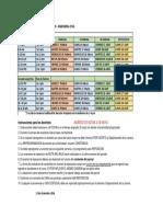 2 CALENDARIO EXAMENES I PAC 2020