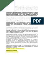dominio y control ISO 270001