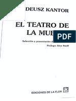 Tadeusz Kantor. El Teatro de La Muerte