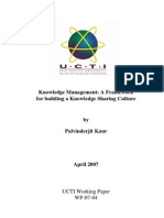 22455726 Knowledge Management