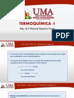 UMA TERMOQUÍMICA-I . 2020-1-