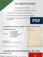 Diversas Constituciones