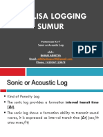 Sonic or Acoustic Log