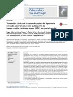 2017 Valoración clínica de la reconstrucción del ligamento cruzado anterior (LCA) con autoinjerto de hueso-tendón rotuliano-hueso (HTH) por portal medial.pdf
