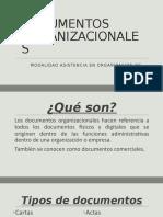 DOCUMENTOS ORGANIZACIONALES