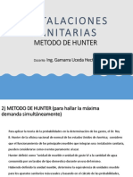 METODO DE HUNTER -REDES DE AGUA POTABLE - UTP.pdf