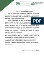 Recomandation1-AzizBioGBEDOUROROU