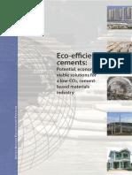 Eco Efficient Cements -UNEP-Report 2016