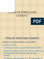 TYPES OF PORTLAND CEMENT.ppt