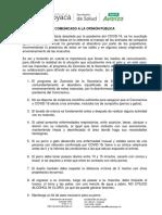 COMUNICADO A LA OPINIÓN PÚBLICA - MASCOTAS