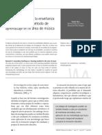 Ríos Alvaro - 2012 - La investigación en la enseñanza secundaria como método de aprendizaje en el área de música