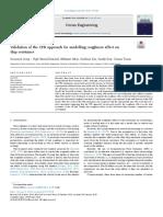 ARTICULO - VALIDACION DE ENFOQUE DE CFD PARA MODELAR EFECTO DE LA RUGOSIDAD EN LA SUPERFICIE DEL CASCO