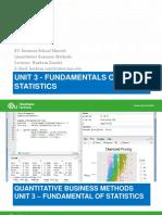 Unit 3_Descriptive Statistics