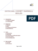 Court 360 Rules -2013