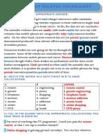 technology related vocabulary+correction