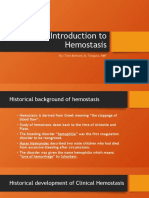Hemostasis