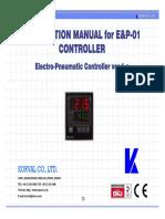 E&P-01 CONTROLLER Eng