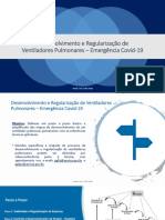Desenvolvimento e Regularização de Ventiladores