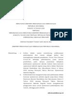 Salinan Permendikbud Nomor 19 Tahun 2020