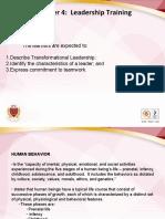 NSTP1-Chapter 4 Leadership Training