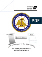 MILITARY JUSTICE MANUAL COMDTINST M5810.1D