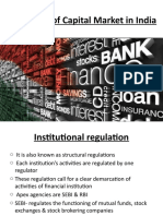 Regulation of Capital Market in India