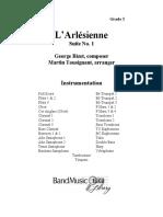 Arlesienne Suite 1 Score