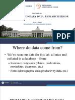 09   PRIMARY & SECONDARY DATA, RESEARCH ERROR (1)