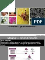 11.Extensões da Genética Mendeliana.ppt