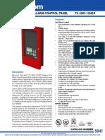 CAT-5941_FleX-Net_FX-2003-12N_Network_Fire_Alarm_Control_Panel