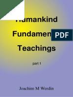 Humankind Fundamental Teachings