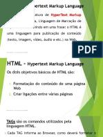 HTML - Hypertext Markup Language.pdf
