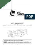 manual carpintería banco estante