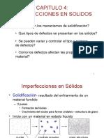 capitulo 4 - Imperfecciones en los sólidos