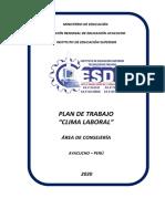 PLAN DE TRABAJO CLIMA LABORAL.CESDE.ROCIO 2020.docx