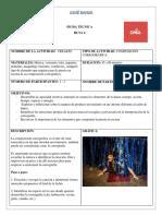 FICHA TÉCNICA-RUTA 2